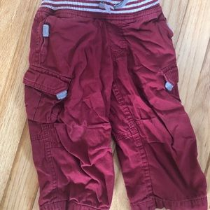 Size 80 jersey lined cargo pants